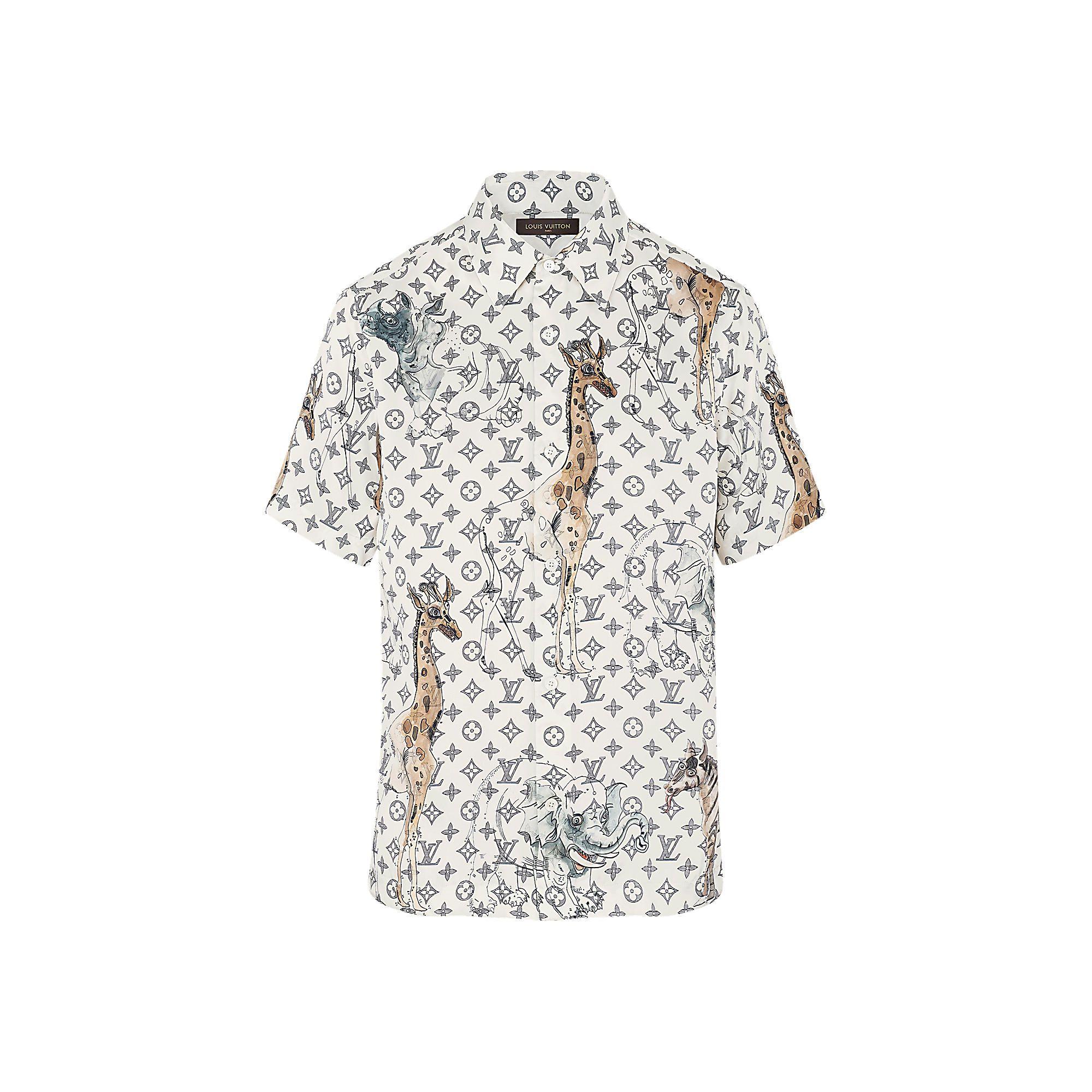 Louis Vuitton Monogram Shirt Mens Joe Maloy