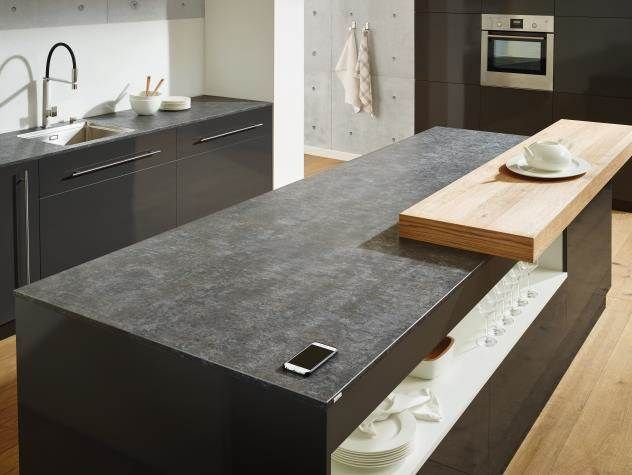 Lechner Küchen ~ Lechner küchenarbeitsplatte design ceramp graphit kitchen