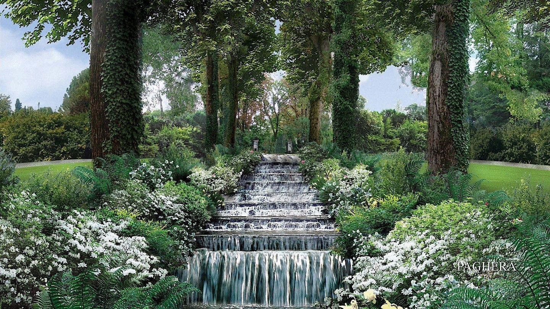 Giardini incantevole atmosfera ispirata dal lago di for Paghera giardini