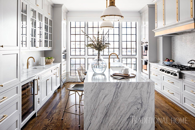 Glamorous Baltimore Kitchen | Wet bars, Kitchens and Refrigerator