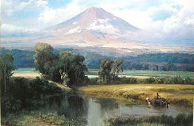 Pemandangan By Basuki Abdullah Pemandangan Lanskap Sejarah Kuno