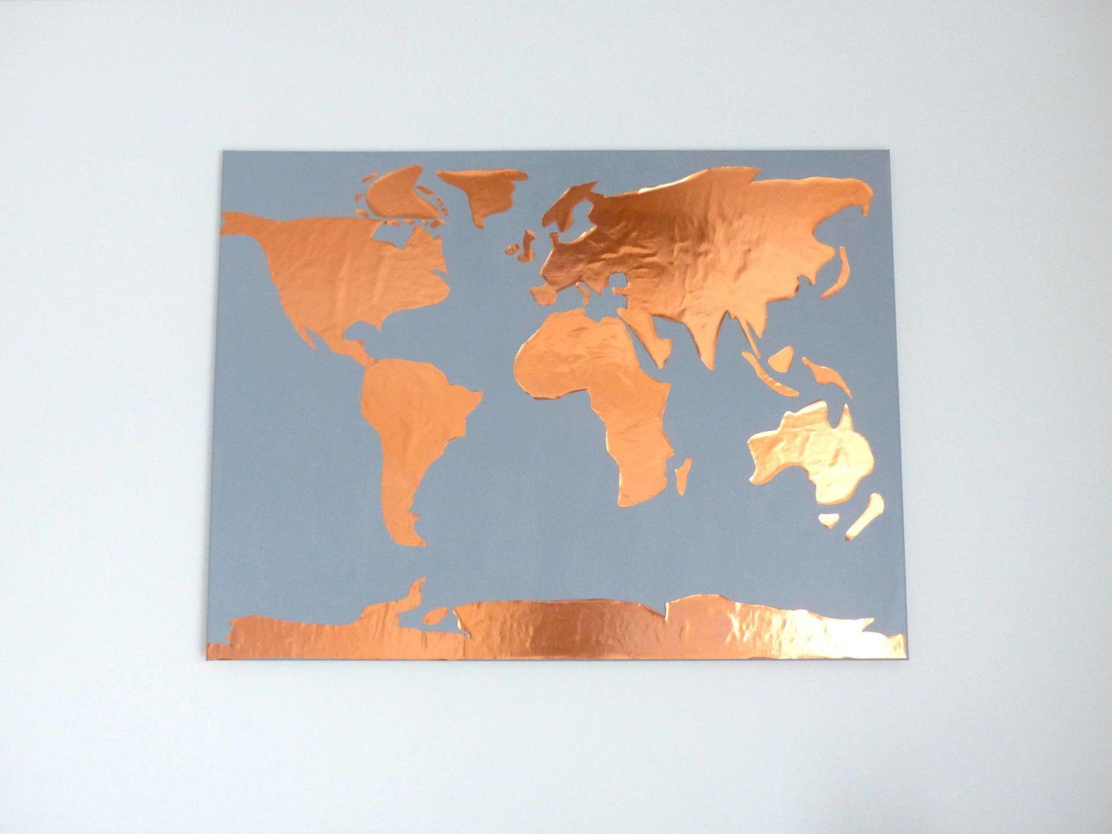 Wohntrend Kupfer und geometrische Formen  Wohntrends Weltkarte