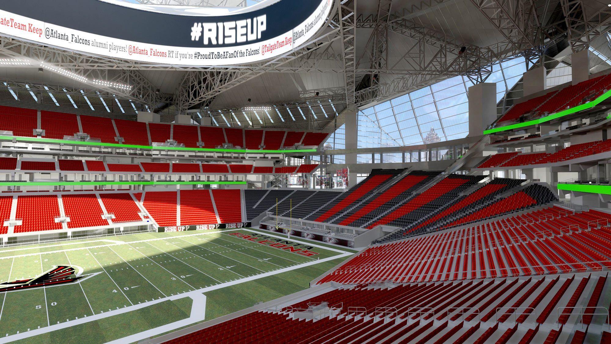 Design Concepts June 26 2014 Stadium Design Stadium Atlanta Falcons Stadium