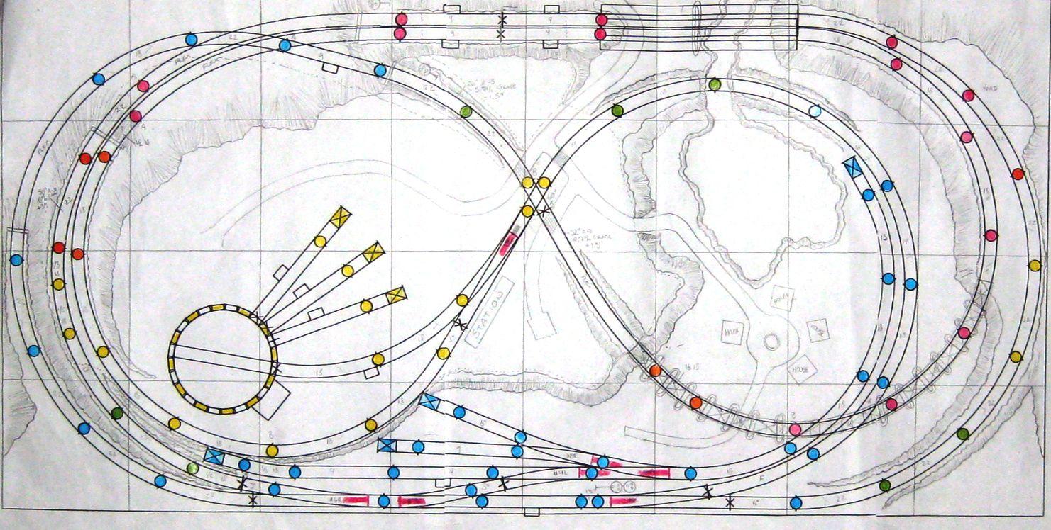 Design Planning Ho Train Layouts Train Layouts N Scale Model Trains