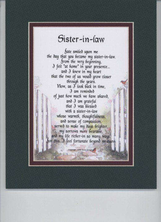 Here Are Some Inexpensive But Meaningful Gifts You Can Get For Your Sister In Law Any Occasion All Hand Picked