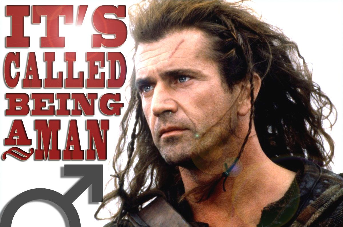 none other. Mel gibson, Braveheart, Actors