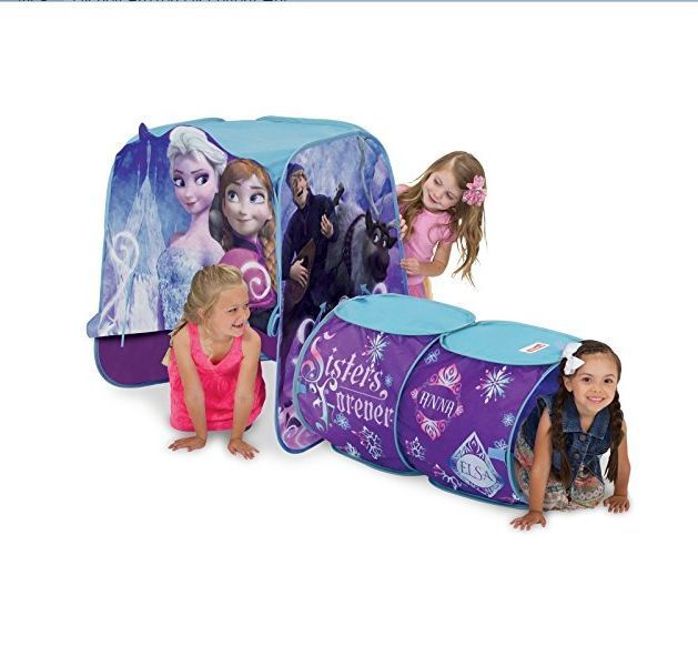 Disney Frozen Playhut Tent Mega Elsa Anna Olaf Castle Play Structure Hut 3u0027 Tall #  sc 1 st  Pinterest & Disney Frozen Playhut Tent Mega Elsa Anna Olaf Castle Play ...