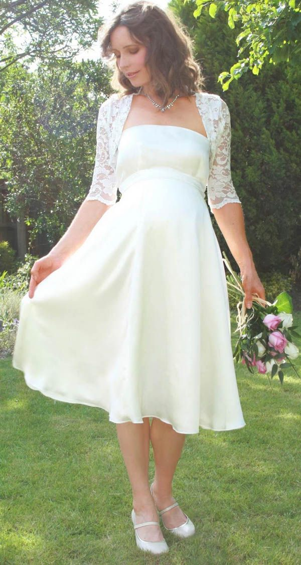 Short western style wedding dresses for cheap