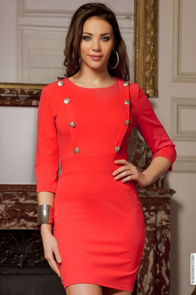 cf88bb53844 Robes courtes femme Corail taille 34