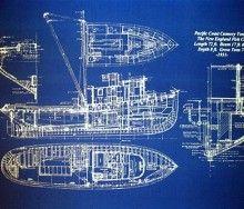 Fishing boat blueprint boat plans pinterest fishing boats fishing boat blueprint malvernweather Gallery