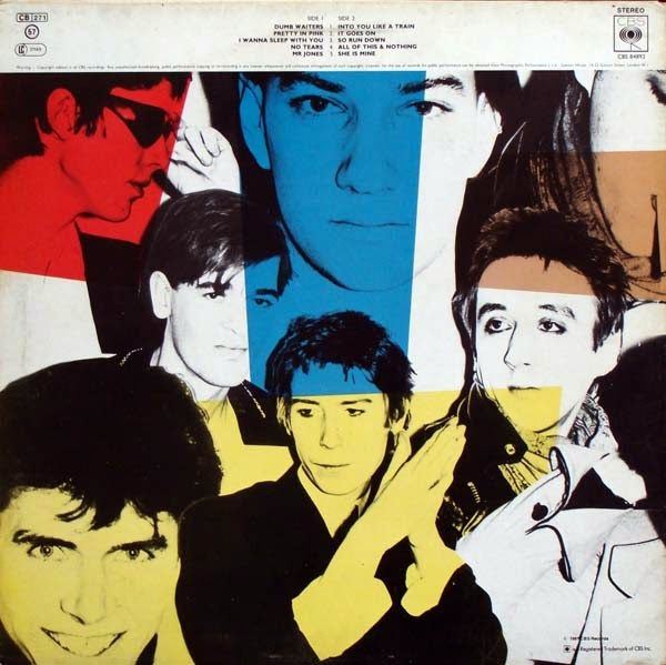 The Psychedelic Furs (pink cover), CBS Records UK, LP, 1980. Designed by Barney Bubbles