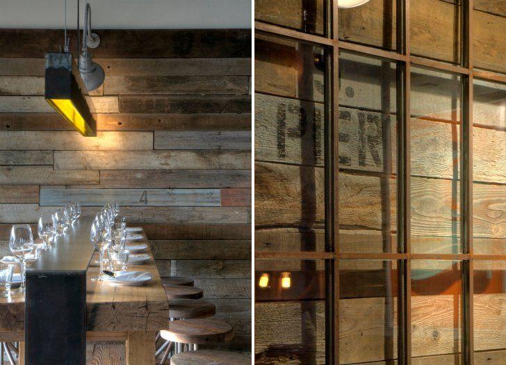 Manhattan Beach Post Office Transformed Into Hip New La Restaurant Restaurant Design Interior Design Articles Rustic Interior Design Inspiration