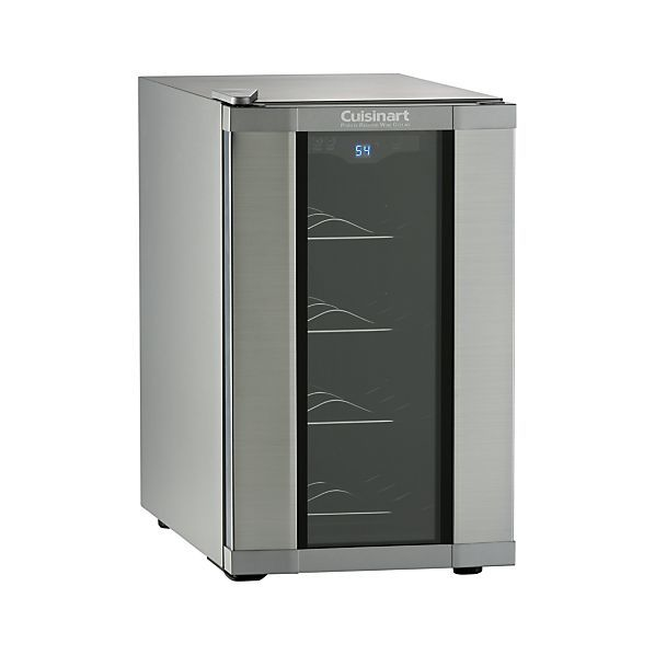 Cuisinart 8 Bottle Wine Cooler Crate And Barrel Wine Cellar Design Home Bar Accessories Wine Cellar