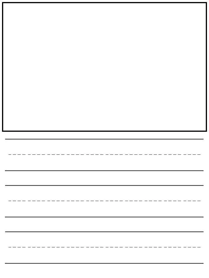 Worksheet Printable Kindergarten Writing Paper Preschool With Lines Template Free 46 M In 2020 Kindergarten Writing Paper Lined Writing Paper Writing Paper Printable