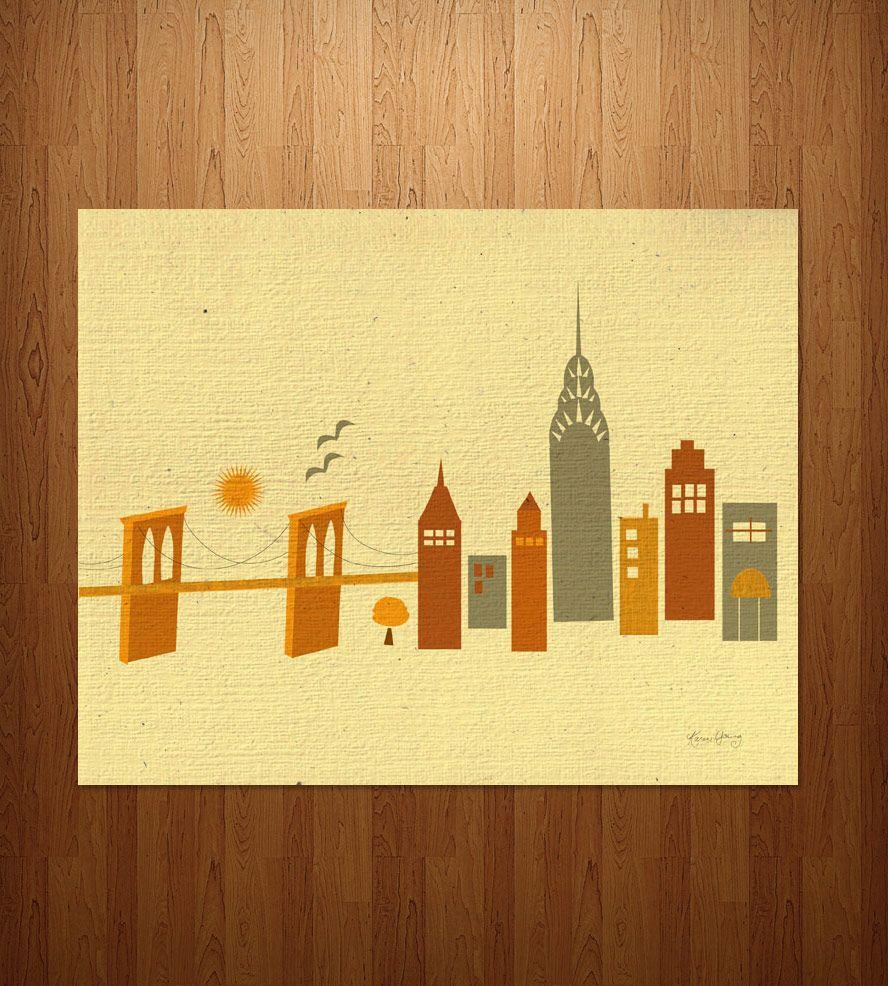Brooklyn Bridge Art Print   Brooklyn bridge, Bridge and Art prints