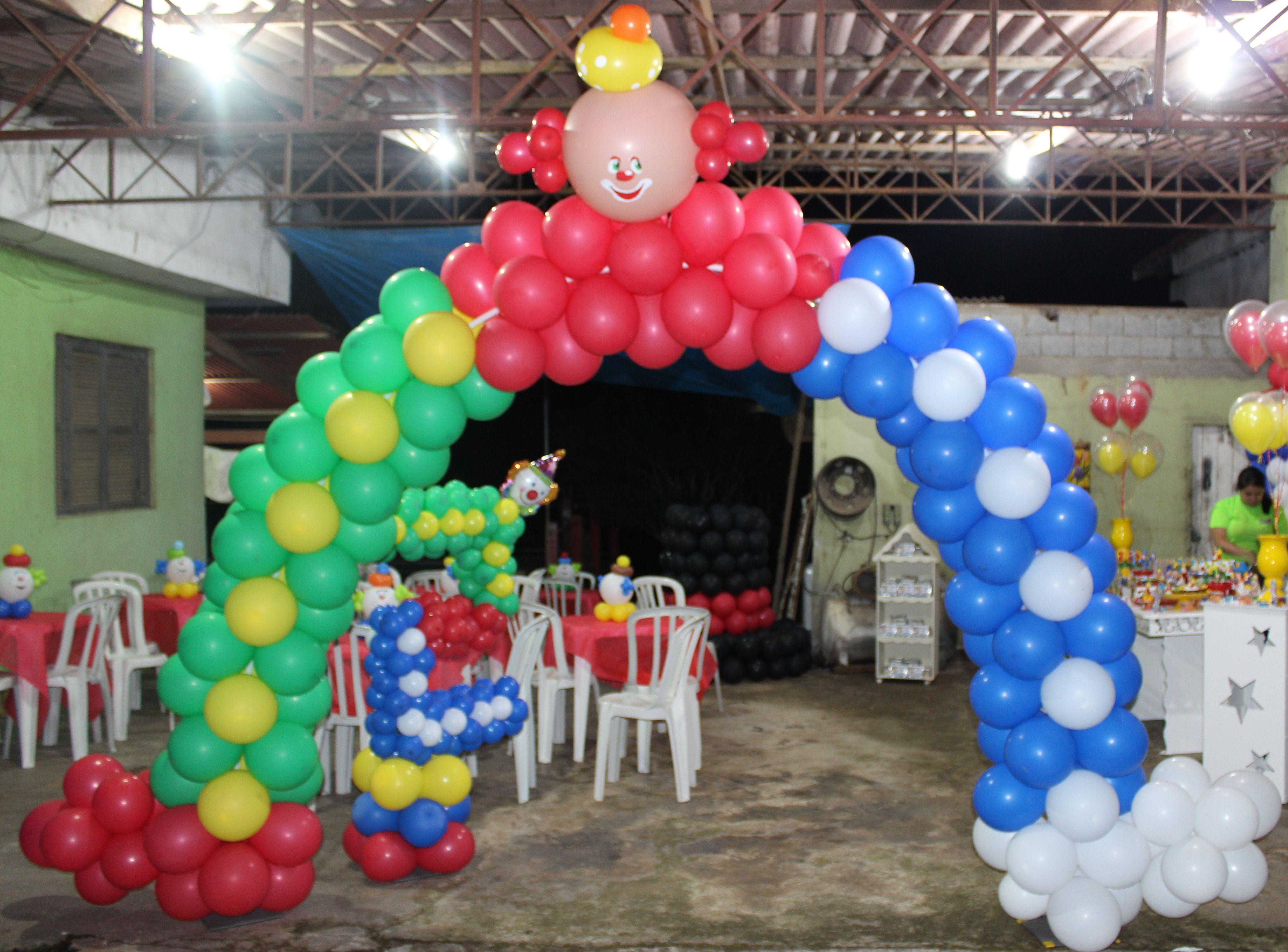 Decoracao Com Baloes Arco De Baloes Tema Crco Decoracao Com