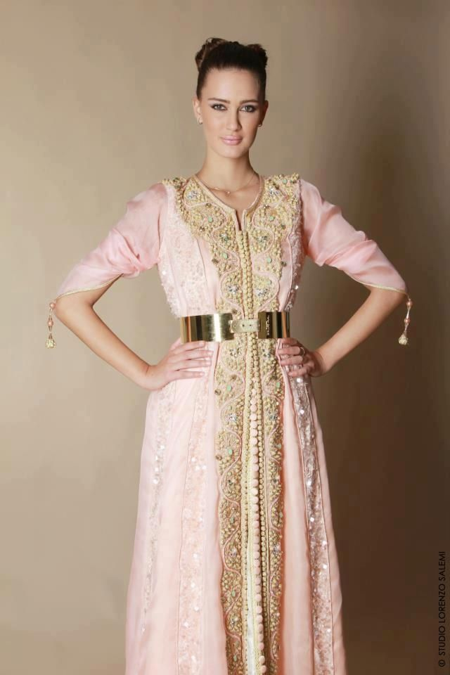Caftan maroc rose pastel  947e481acb8