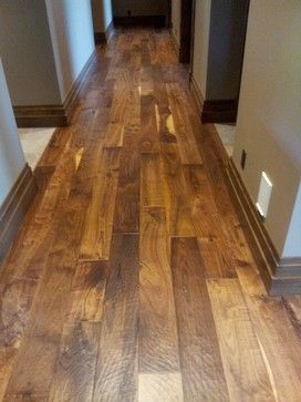 7 Quot Hand Scraped Walnut Plank Traditional Wood Flooring