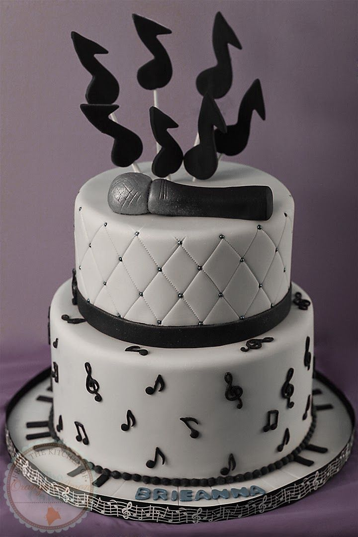 Stupendous Happy Birthday Brieanna With Images Music Note Cake Music Funny Birthday Cards Online Alyptdamsfinfo