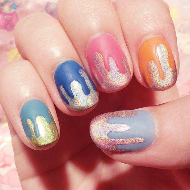 nail polish, colorful nails, nail art