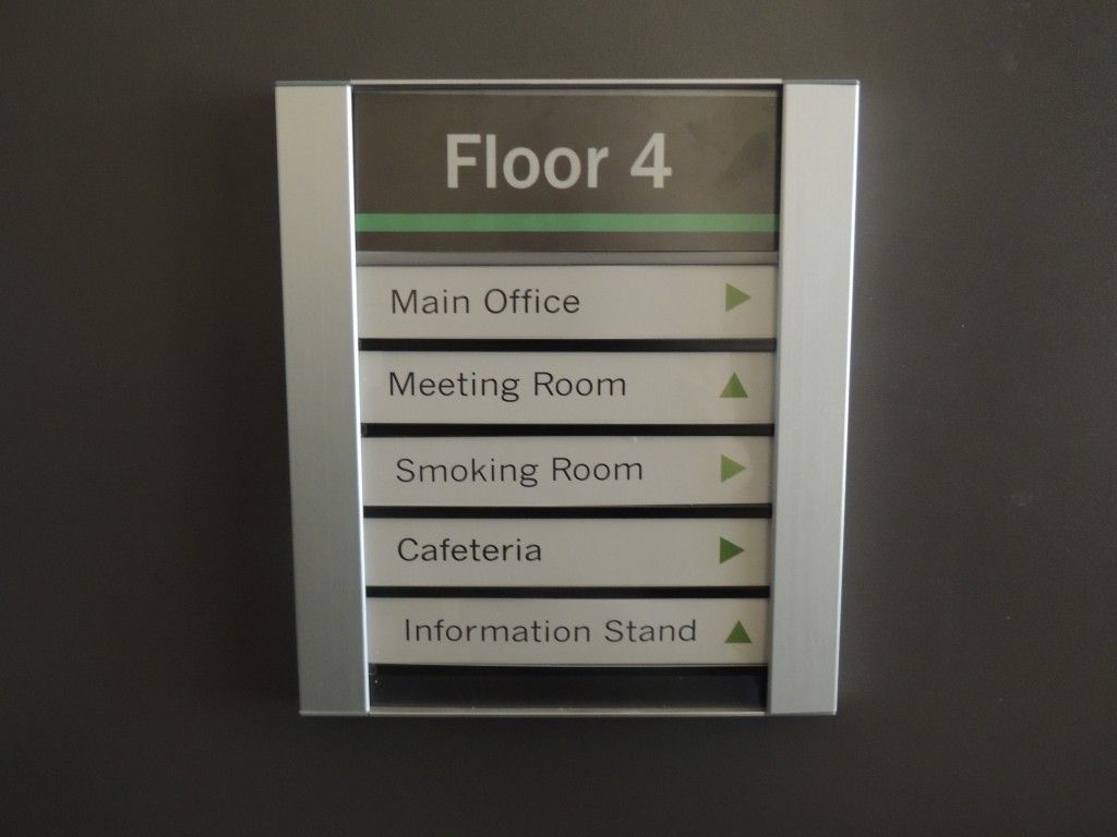 Design paper inserts for your office directory sign in minutes ...