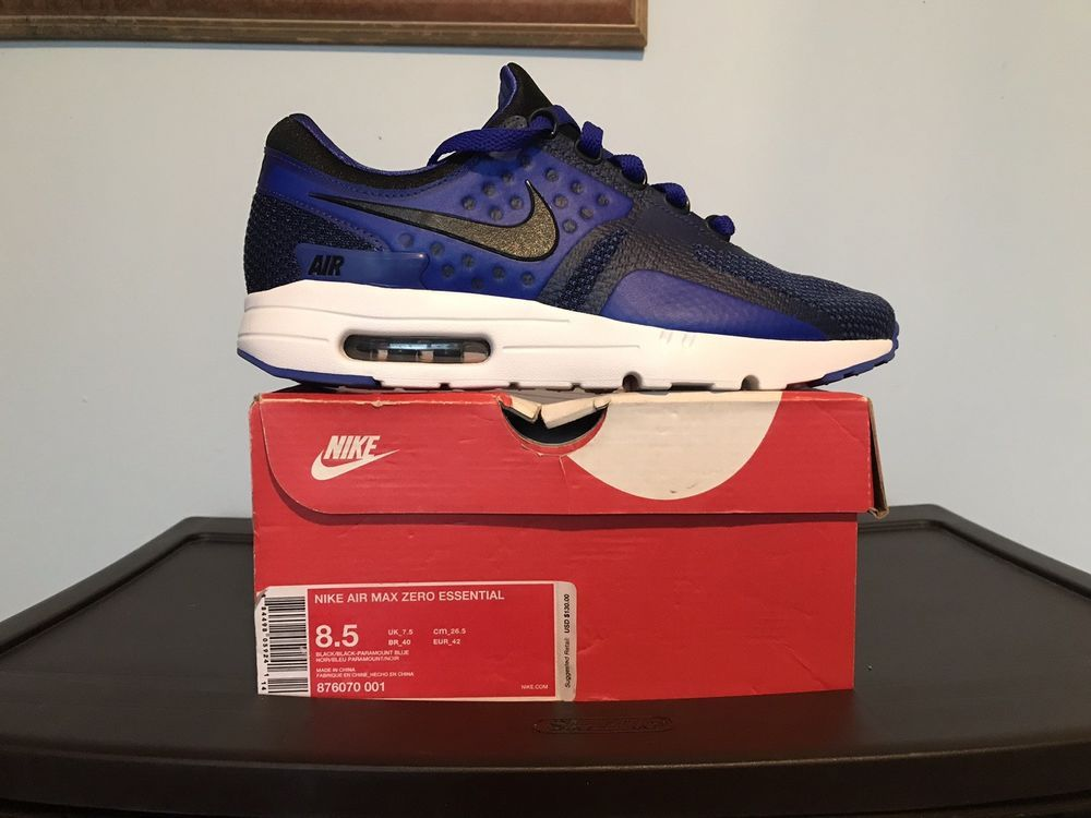 plus de photos ee355 54286 Details about Nike Air Max Zero Essential sz 8.5 Paramount ...