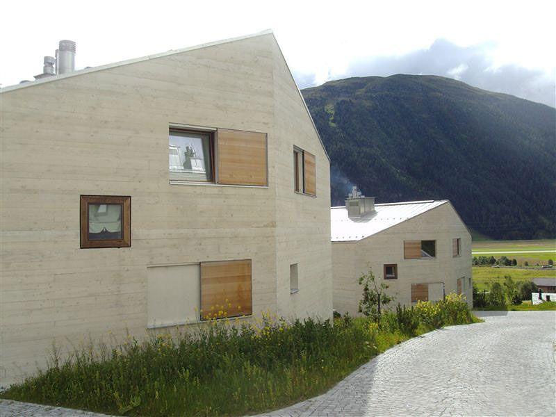 Innenarchitektur Engadin sicht und stfbeton fassaden o christoffel ag st moritz engadin architecture