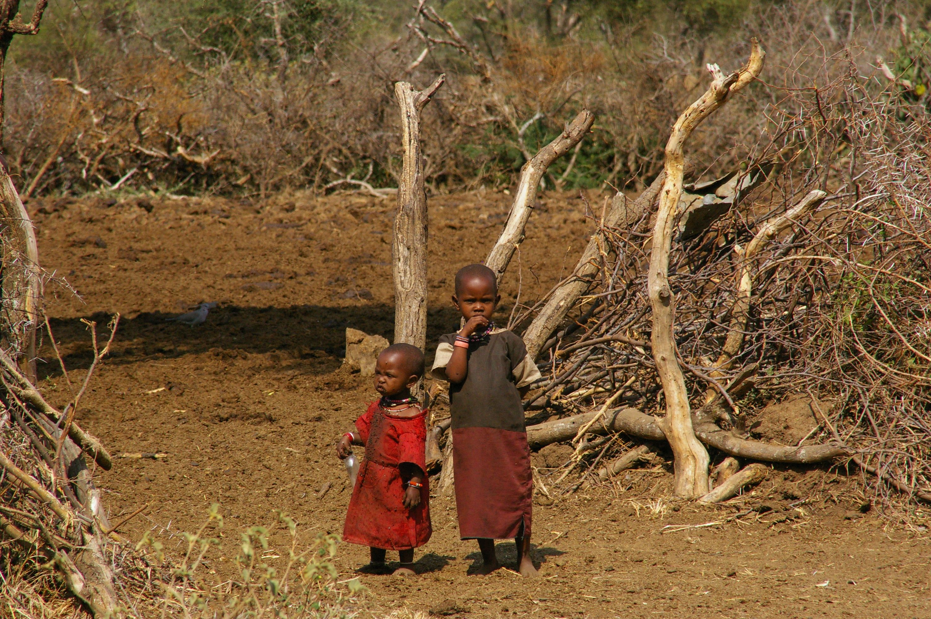 Massai children