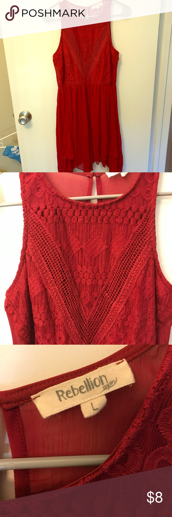 Red long shirtdress sleeveless red sleeveless long shirtdress with