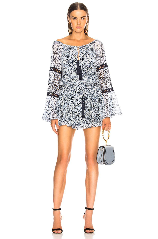 Alexis Lanelle Dress In Capri Embroidery Fwrd Dresses