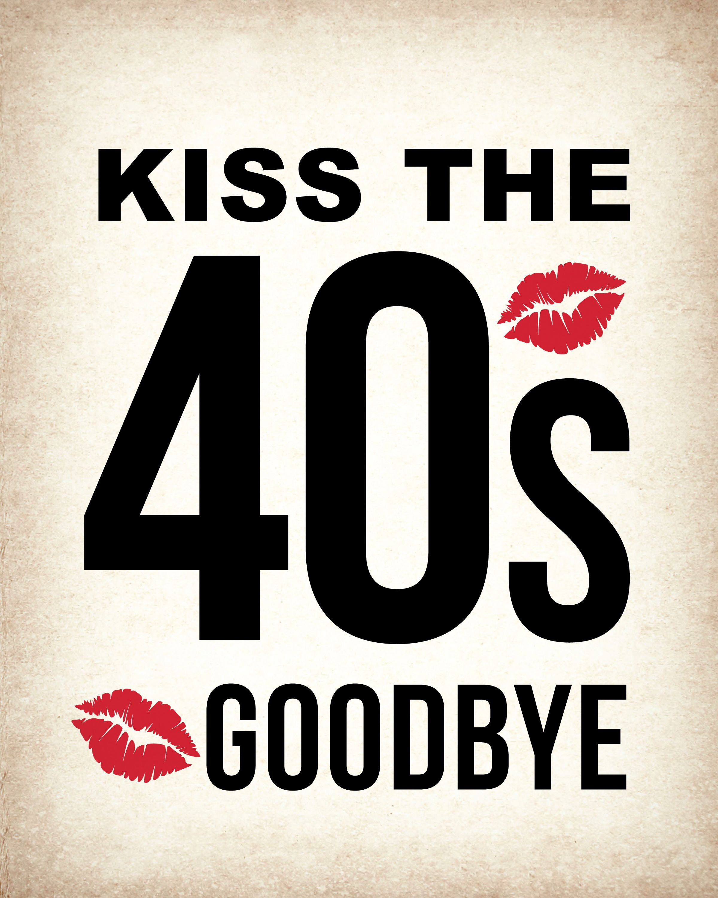 photograph about Printable 50th Birthday Signs known as 50th Birthday PRINTABLE Indication Pack, 50 and Amazing, Kissing