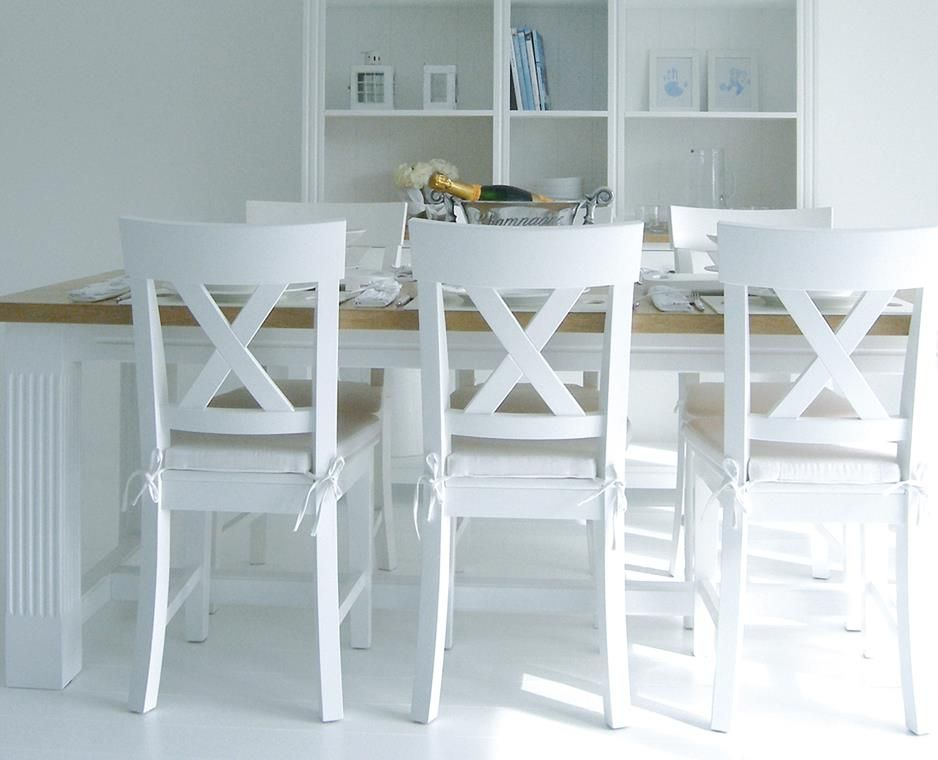 White Wood Dining Chairs  Wood Dining Chairs  Pinterest  White Entrancing White Kitchen Chairs Design Inspiration