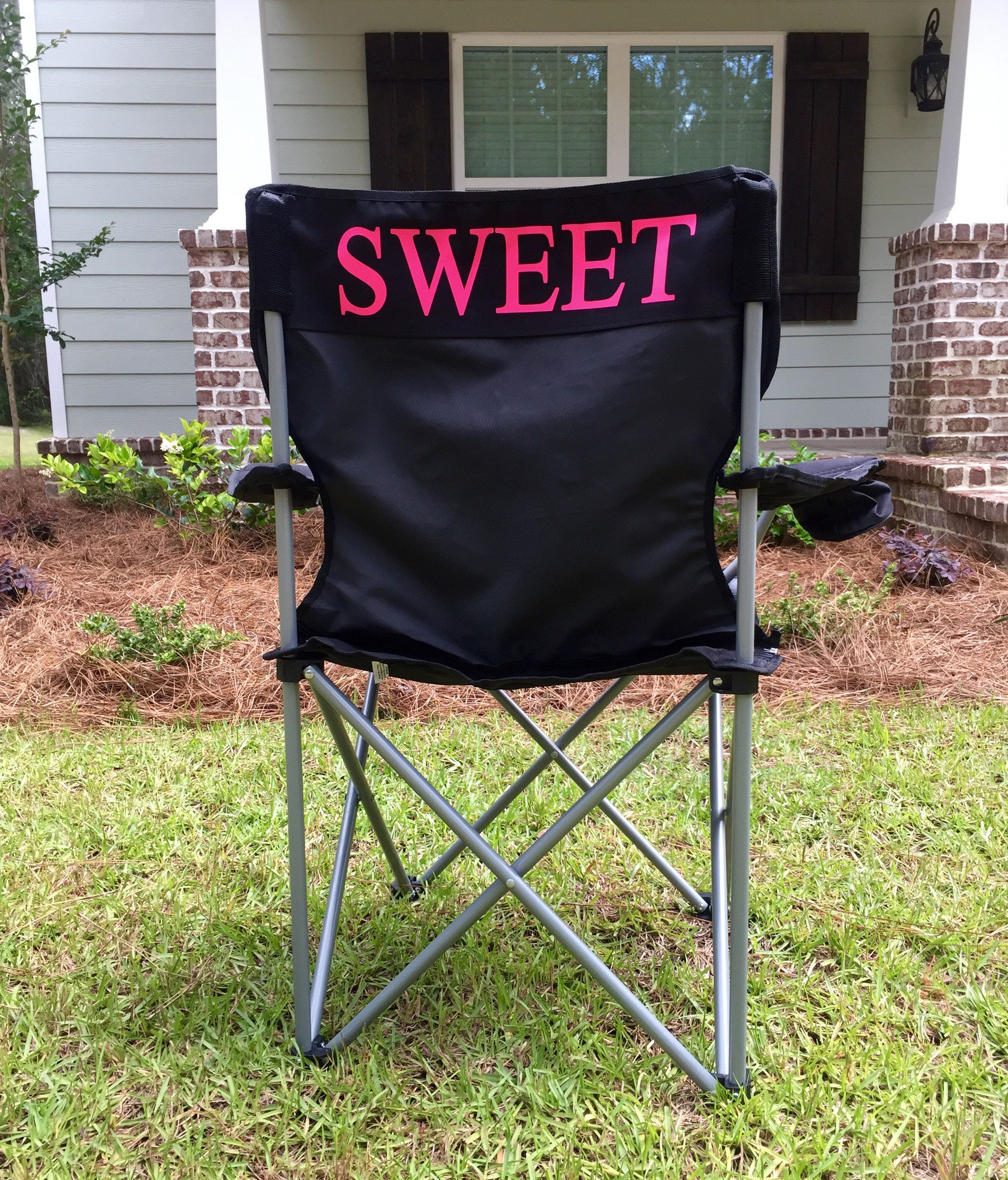 Custom Folding Chairs Monogrammed Camping Chair Personalized