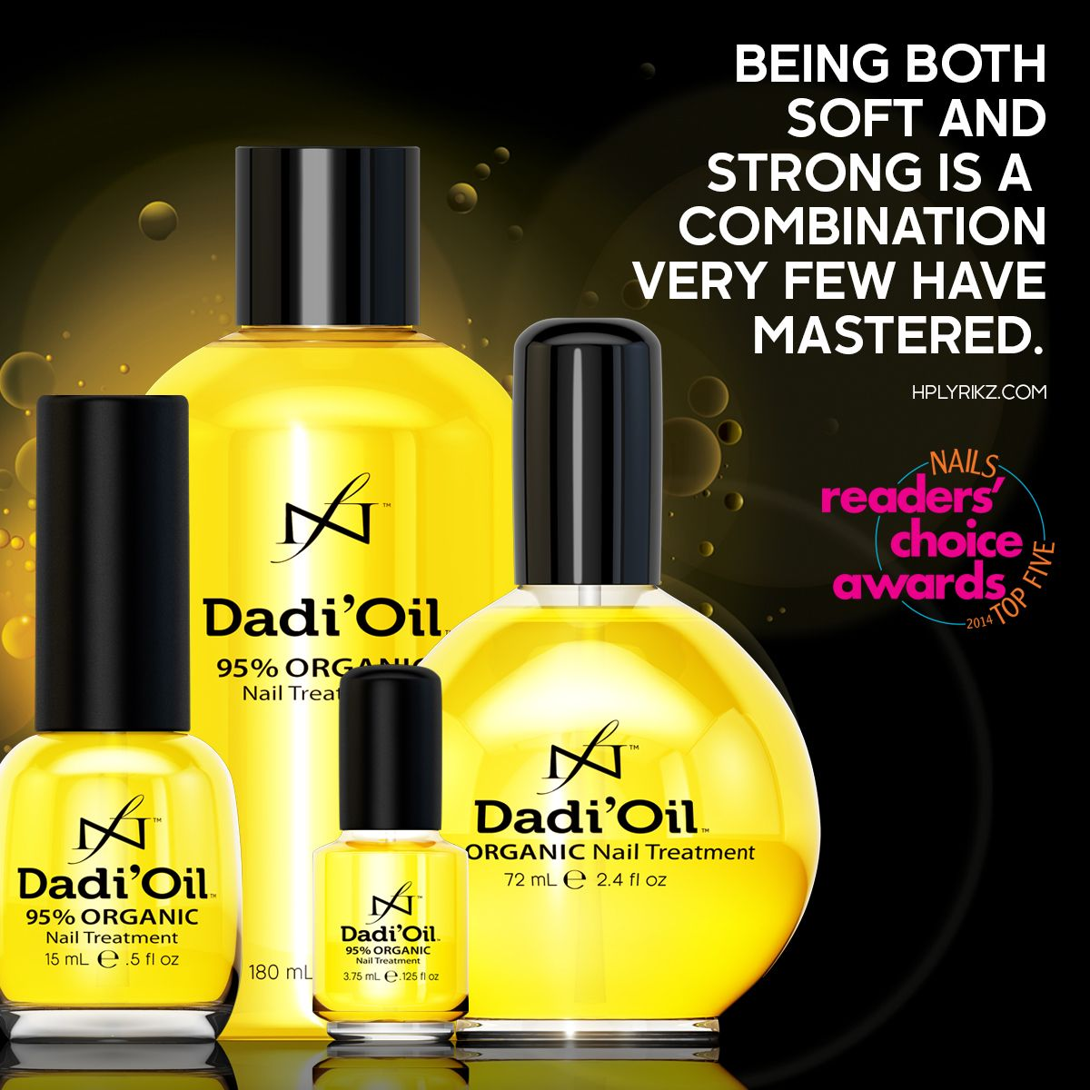 Lucky for us, there\'s Dadi\'Oil. | Quotes | Pinterest | Professional ...