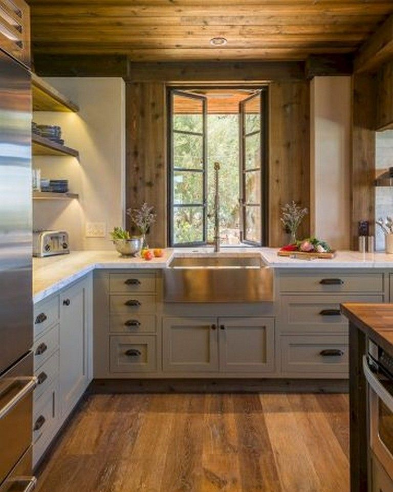 20 Awesome Rustic Kitchen Style Ideas For Comfortable Old Kitchen