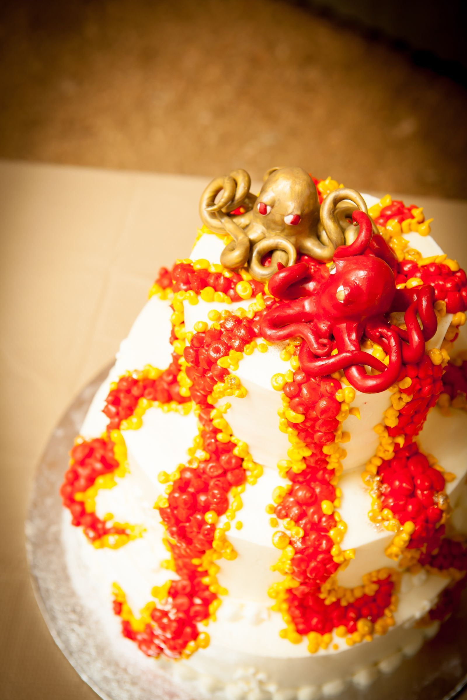 Wedding Cake. German themed wedding held at the Meadow Barn ...