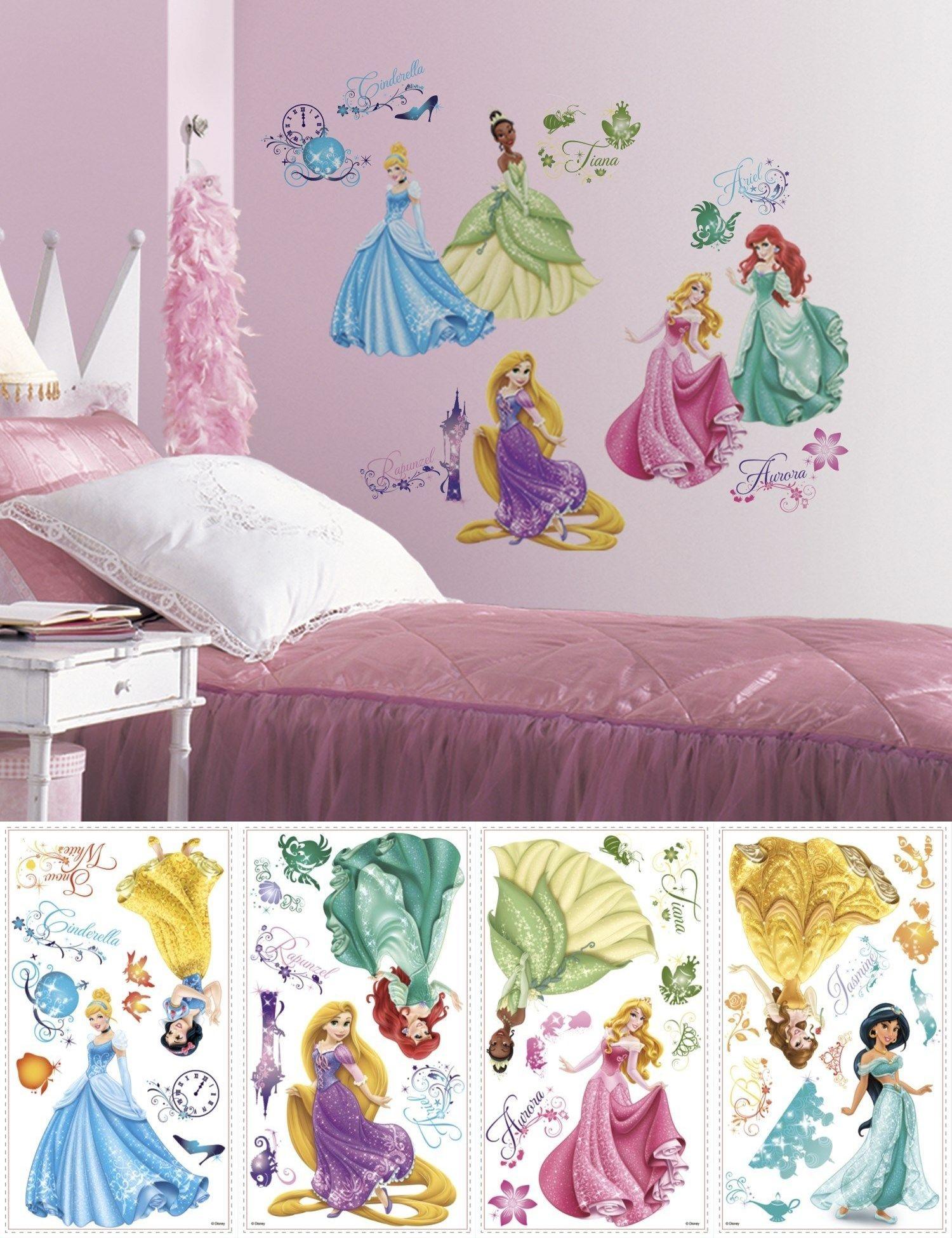 Bedroom Playroom And Dorm D Cor 115970 Disney Princess Wall Decals New Princesses Royal Debut Disney Princess Wall Decals Baby Nursery Decor Princess Sticker