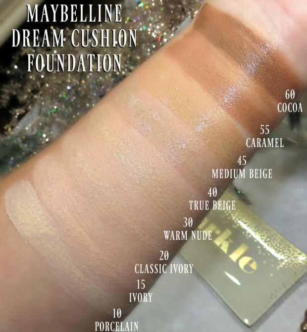 Nyx Stay Matte But Not Flat Powder Foundation Shade Finder Tips For Applying Wearing Maybelline Dream Cushion Foundation Dream Brightening Creamy Concealer Blushing Noir Maybelline Dream Cushion Foundation Maybelline Dream Cushion Cushion Foundation