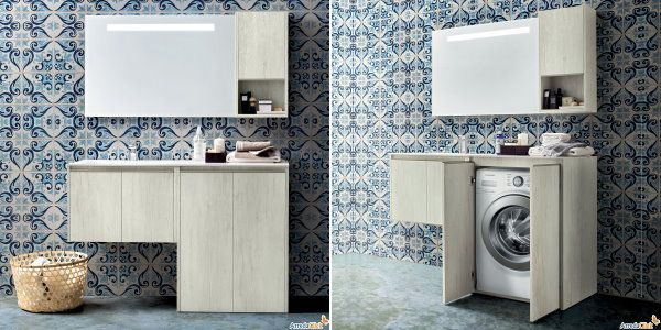 Mobile bagno con lavatrice ikea affordable download by tablet desktop original size back to - Planner bagno ikea ...