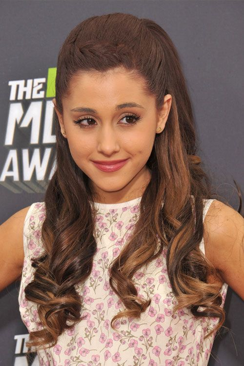 Ariana Grande With Light Brown Hair