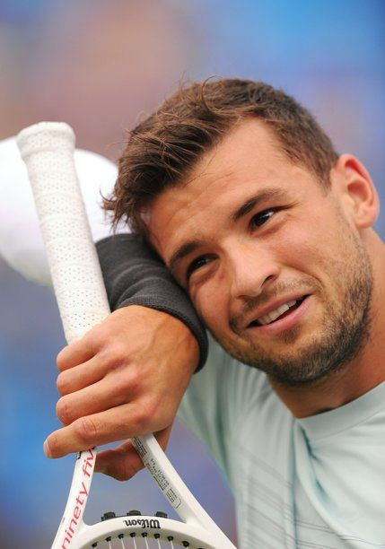 Grigor Dimitrov Tennis Players Fun Sports Day