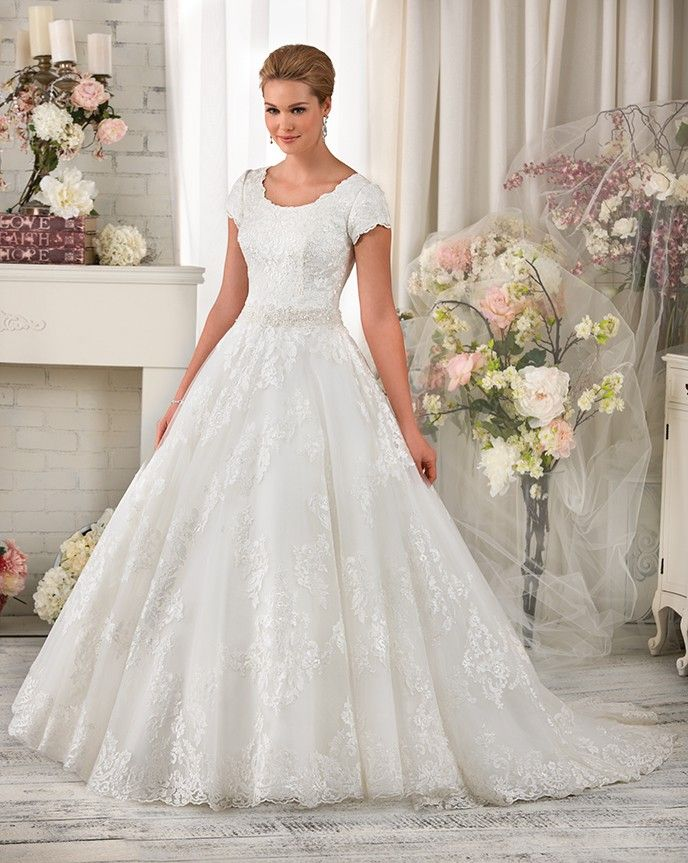A fairytale ball gown fit for a princess ornate lace for Fairytale ball gown wedding dresses