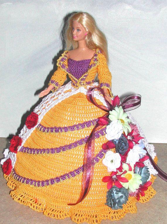 Crochet fashion doll barbie pattern 676 designer for Design seminterrato non finito