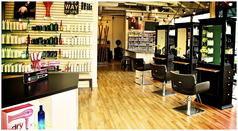 Small Hair Salon Design Ideas  Modern Hair Salon Decorating Ideas