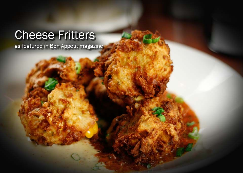 Cheese fritters at amerigo italian restaurant httpwww