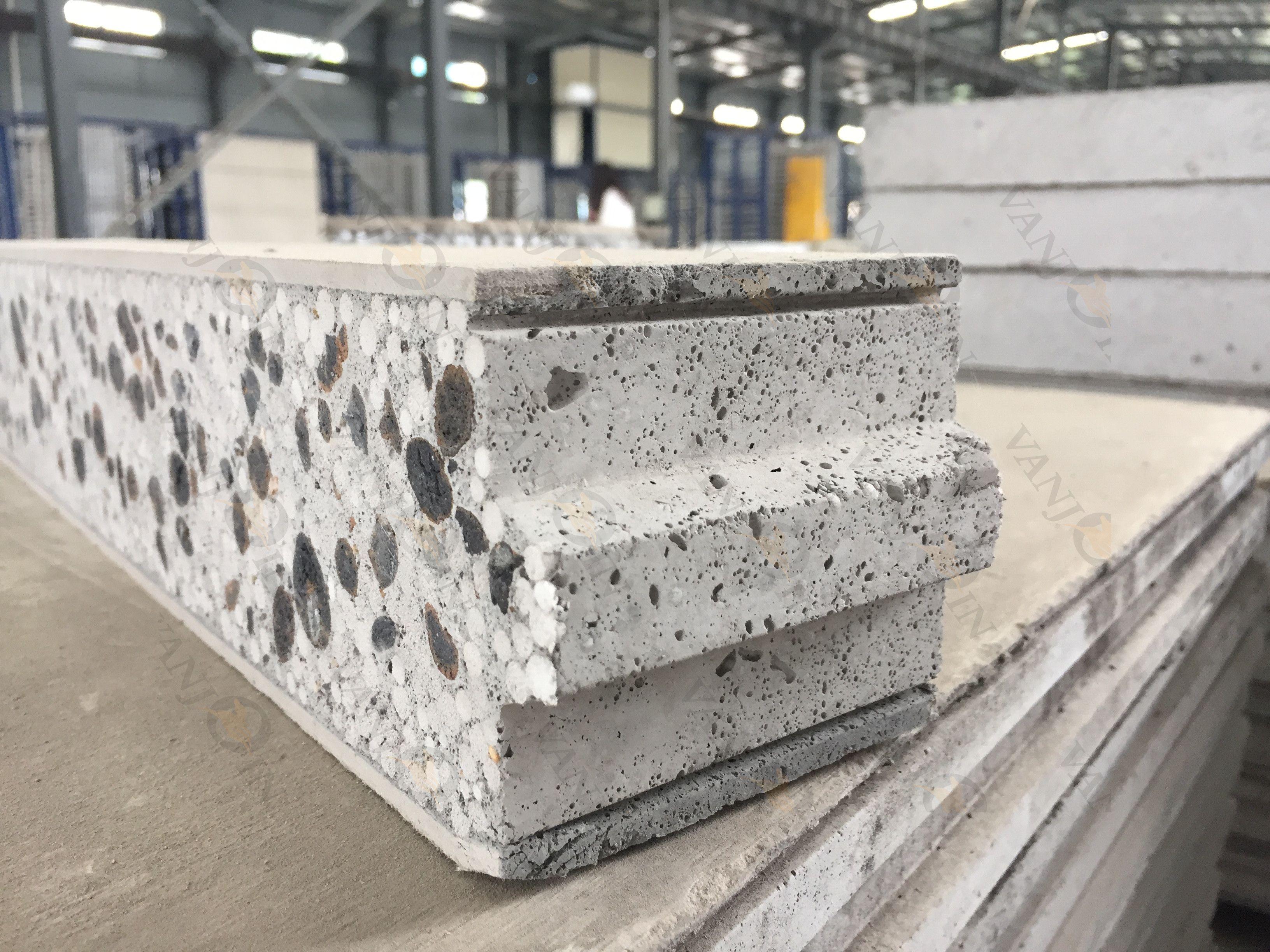 Ceramsite Concrete Wall Panel Faux Concrete Wall Concrete Wall Panels Insulating Basement Walls