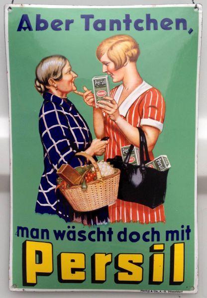 persil imi henkel waschmittel d sseldorf wei e dame waschkorbfrau vintage posters. Black Bedroom Furniture Sets. Home Design Ideas