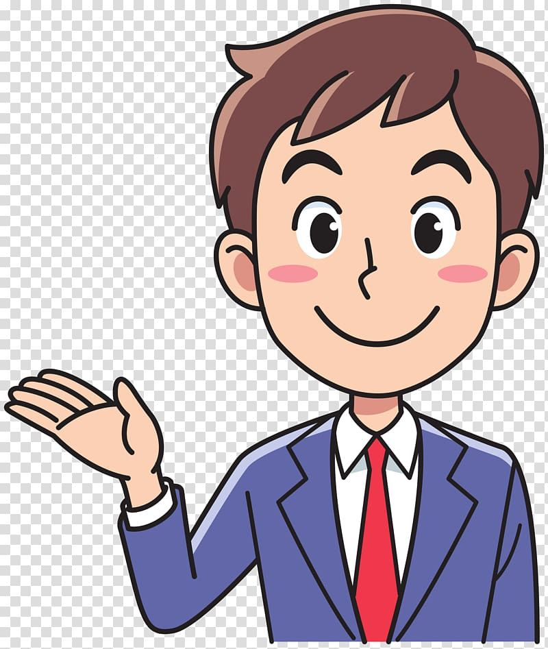Woman Businessperson Invite Transparent Background Png Clipart Animated Man Cartoon Mom Cartoon Man