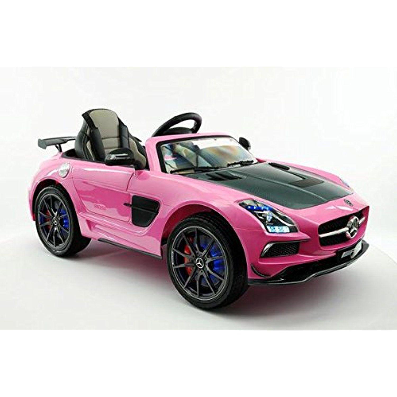 Licensed Mercedes Sls Amg Final Edition 12v Kids Ride On Car Mp3