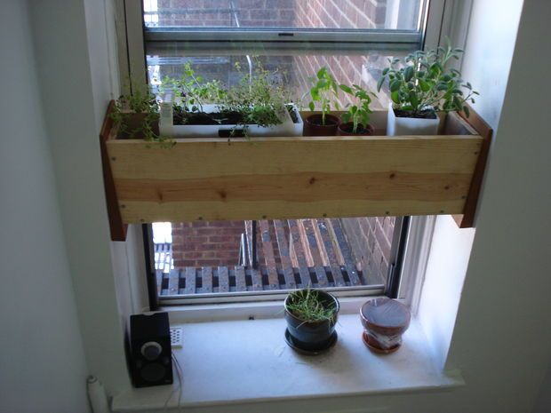 Herb Planter Box For The Kitchen Easy Install Herb